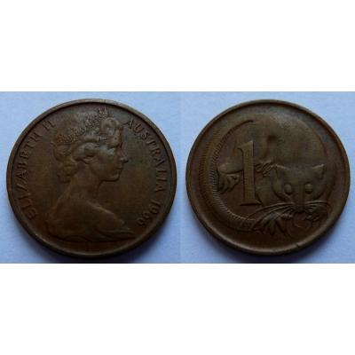 Austrálie - 1 cent 1966