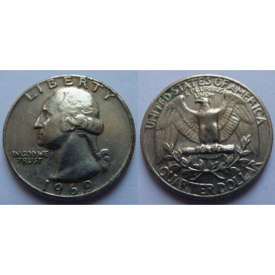 Spojené státy americké - 1/4 dolar 1969