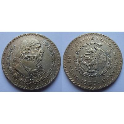 Mexiko - 1 peso 1960