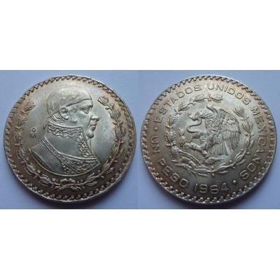 Mexiko - 1 peso 1964