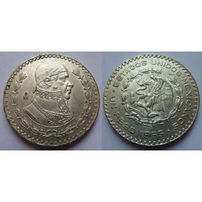 Mexiko - 1 peso 1965