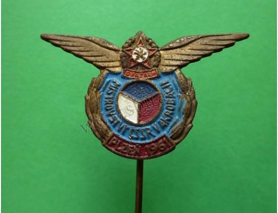 Mistrovství ČSSR v letecké akrobacii, Plzeň 1961