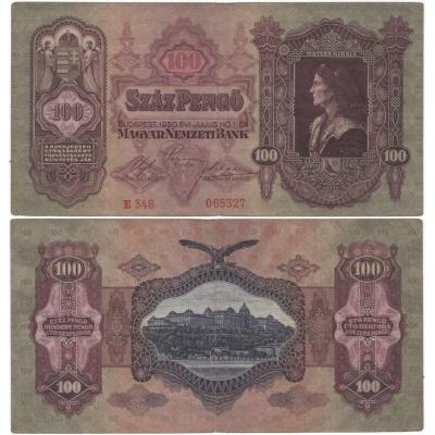 100 pengö 1930