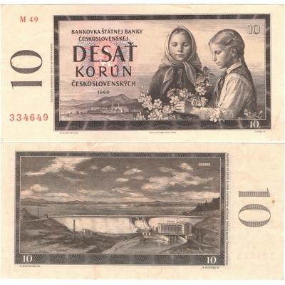 10 Korun 1960, série M