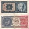 20 korun 1926 neperforovaná, série Hf