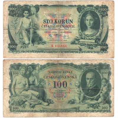100 korun 1931, I. série, neperforovaná