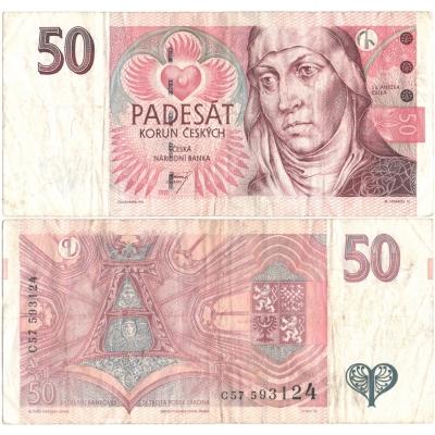 50 korun 1997, série C