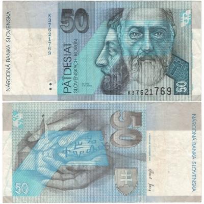 Slovensko - bankovka 50 korun 2005