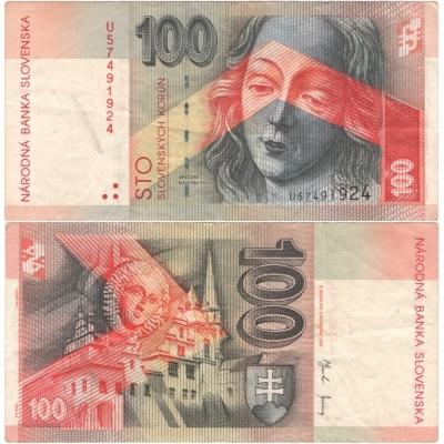 Slovensko - bankovka 100 korun 2004