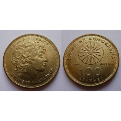 Řecko - 100 Drachem 1992