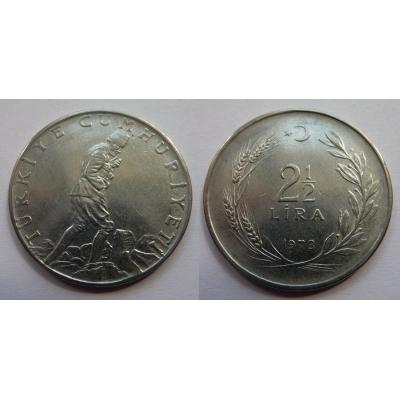 Turecko - 2,5 lira 1973