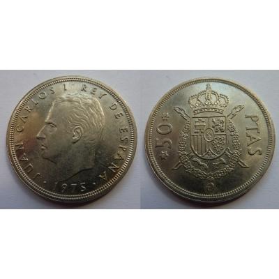 Španělsko - 50 pesetas 1975