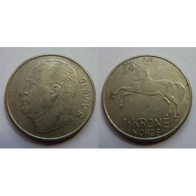 Norsko - 1 krone 1973