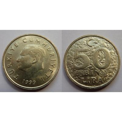 Turecko - 50 Bin Lira 1999