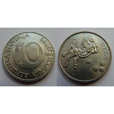 Slovinsko - 10 tolarů 2000