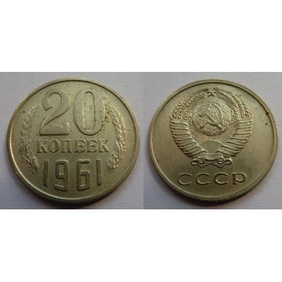 Sovětský svaz - 20 kopějek 1961