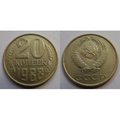 Sovětský svaz - 20 kopějek 1988