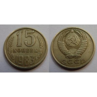 Sovětský svaz - 15 kopějek 1983