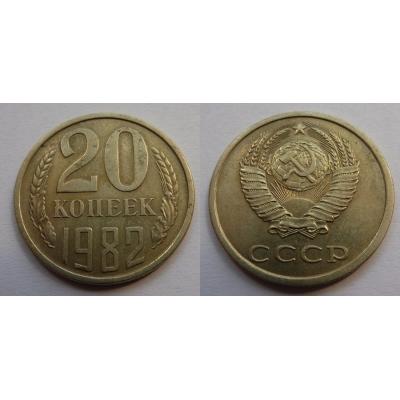 Sovětský svaz - 20 kopějek 1982
