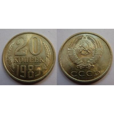Sovětský svaz - 20 kopějek 1985