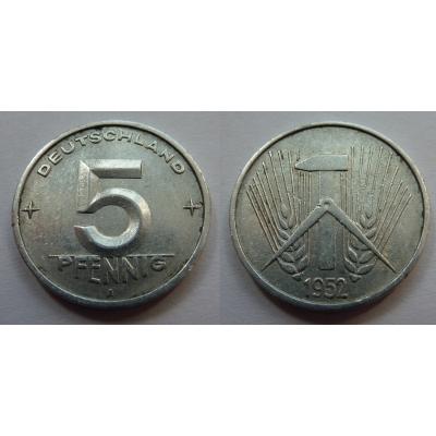 5 Pfennig 1952 A