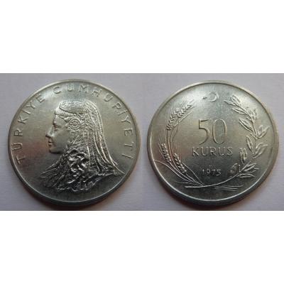 Turecko - 50 kurus 1975
