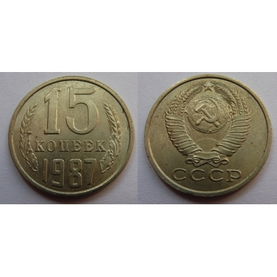 Sovětský svaz - 15 kopějek 1987