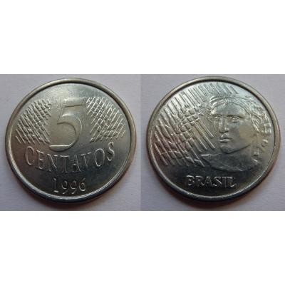 Brazílie - 5 centavos 1996