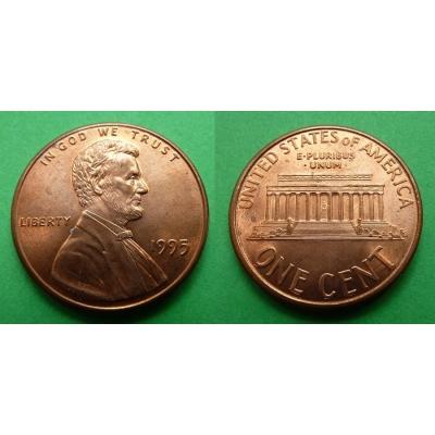 Spojené státy americké - 1 cent 1995