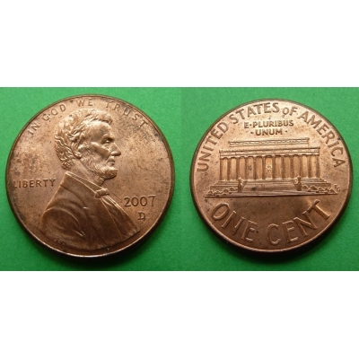 Spojené státy americké - 1 cent 2007 D