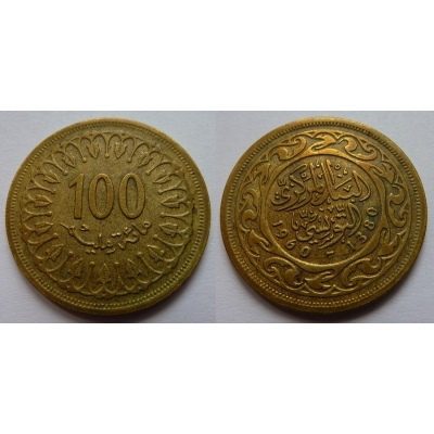Tunisko - 100 Millim 1960