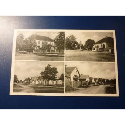 Československo - pohlednice Hlohovice