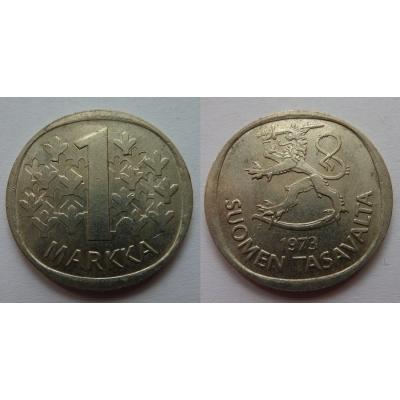 Finsko - 1 markka 1973