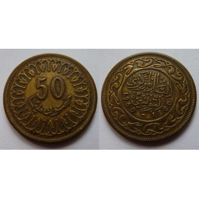 Tunisko - 50 Millim 1960