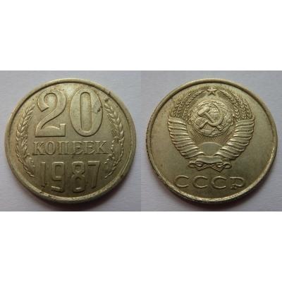 Sovětský svaz - 20 kopějek 1987