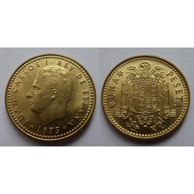 Španělsko - 1 peseta 1975