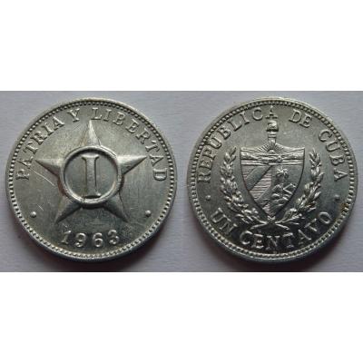 Kuba - 1 Centavo 1963