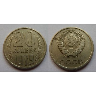 Sovětský svaz - 20 kopějek 1979