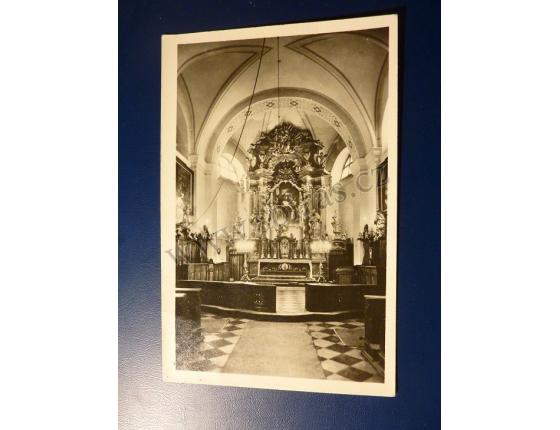 Stará Boleslav, kostel sv. Václava, hlavní oltář