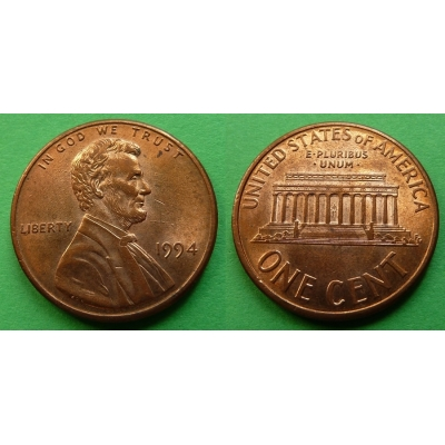 Spojené státy americké - 1 cent 1994