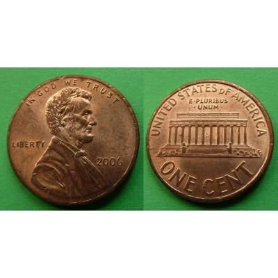 Spojené státy americké - 1 cent 2006