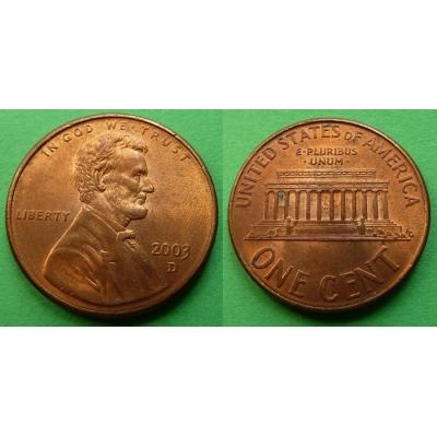 Spojené státy americké - 1 cent 2003 D