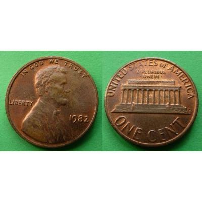 Spojené státy americké - 1 cent 1982