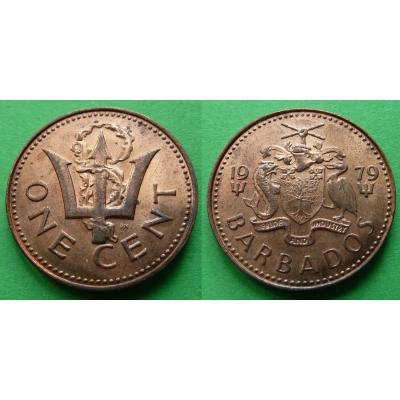 Barbados - 1 Cent 1979