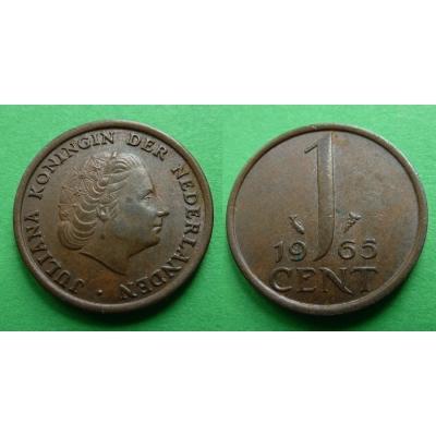 Holandsko - 1 cent 1965