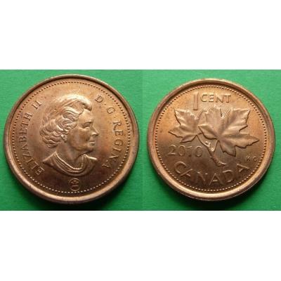Kanada - 1 cent 2010