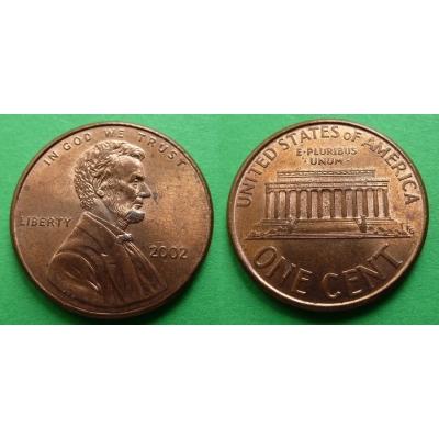 Spojené státy americké - 1 cent 2002