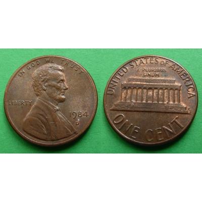 Spojené státy americké - 1 cent 1984 D