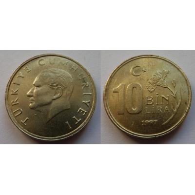 Turecko - 100000 Lira 1997