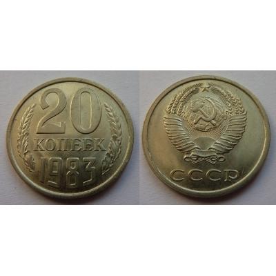 Sovětský svaz - 20 kopějek 1983